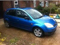 FORD FIESTA LX 1.4 TURBO DIESEL blue 2004