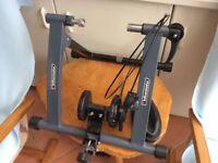 Bike exerciser frame