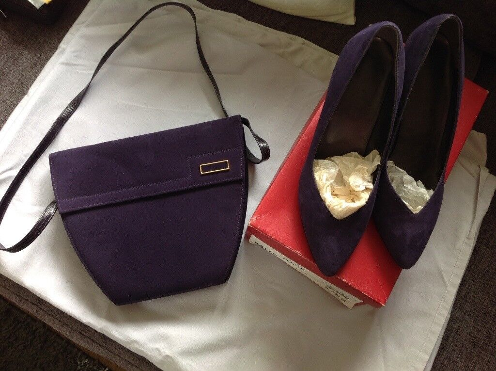Selection Of Shoes Boots Handbags Mostly New Clarks Hotter Kath Kidson Lotus Etc