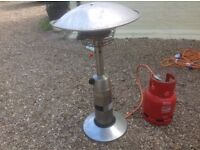 Patio heater / with bottle