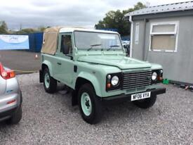 Land Rover defender TD5 absolutely perfect condition 2006 76,000 miles two owners