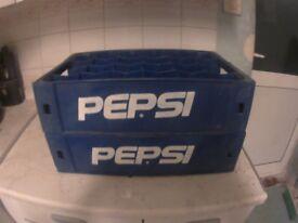 Pepsi-Cola (24) Bottle Slot *Plasticase* CRATE_CARRIER