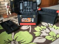 Back & decker portable tool box