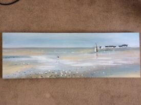 Dunelm - At the beach canvas