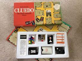 Vintage cluedo