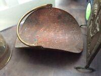 Copper fire bucket