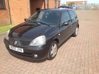 RENAULT CLIO EXTREME (55) SERVICE HISTORY, HPICLEAR,LONG MOT.