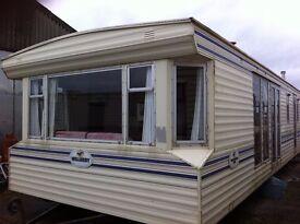 Willerby Gainsbourgh FREE DELIVERY 33x12 2 bedrooms 2 bathrooms patio doors offsite static caravan