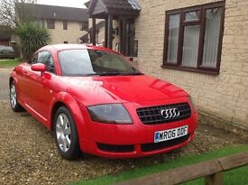 Audi TT 1.8 Red Black Leather Interior - MUST BE SEEN !
