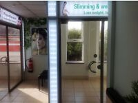 Slimming & weight lose business / shop to let from only £50 per