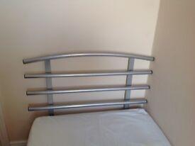 Single Bed Metal Headboard