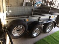 Ifor Williams gd 84 trailer