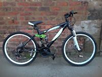 Carrera detonate 24inch wheeel mountain bike in good order