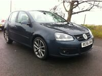 VOLKSWAGEN GOLF 2.0 GT TDI 170BHP 2006 FOR SALE! FULL MOT!