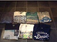 Mens M-L t-shirt bundle