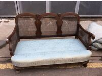 One day sale : Bergere 3 Seater Settee : Free GLASGOW Delivery