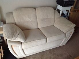 Four piece Sofa Suite sold as single items. £20 an item o.n.o
