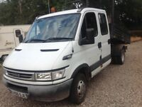 Iveco double cab tipper