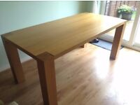 Oak dining table. Used.
