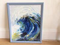 Original Painting - Wave