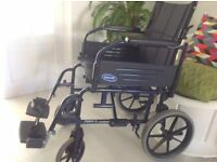 NEW FOLDABLE WHEELCHAIR COST 400 SUPERB