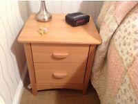 WANTED Oak Bedside Cabinet