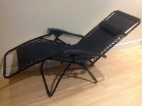 Suntime Deluxe Black Royale Reclining chair