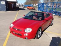 Mgf 1.8 Vvc 1997 r reg in red with 109000 miles and has an mot until the 31st of March 2017