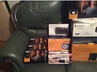Job lot audio electrical .dab / stereo / hi fi/ speakers .