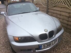 BMWZ3 for sale in Stafford good runner, fun car