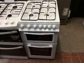 New gas cooker swan 50 cm wide clean all round no marks