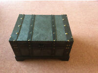 LARGE WOODEN CHEST - NEW WITHOUT TAGS