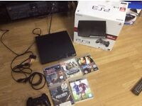 PS3 160gb boxed with games