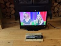 """Luxor 12v 16""""HD LCD TV with freeview dvd with remote"""