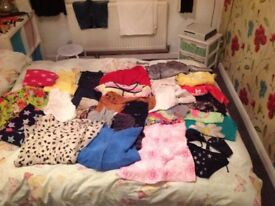 Bundle of girls clothes. 29 items. Ages 10-14 years.