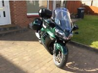 KAWASAKI GTR1400CBF SHAFT DRIVE SPORTS TOURING GTR 1400 2011 VERY LOW MILEAGE 11,700 GENUINE MILEAGE