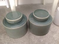 Decorative storage jars