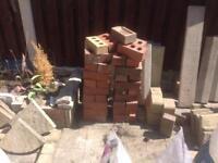 House bricks.