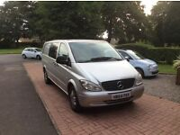 Mercedes Vito Dualliner,115 cdi Automatic. Extra long wheel base