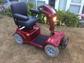 STERLING STAR PLUS, HEAVY DUTY MOBILITY SCOOTER.
