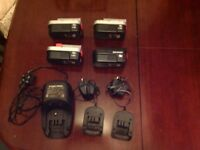 Black & Decker 18V NiCd Batteries & Chargers
