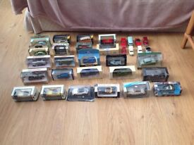 Diecast vehicle models various 1/24th scale (31) plus 5 larger scale models.