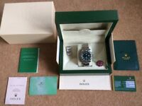 Rolex Hulk Submariner with Box and Papers