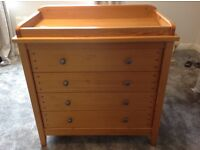 Mamas and Papas Changing Station / Chest of Drawers