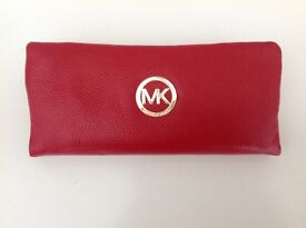 Ladies Red Michael Kors Style Purse- Lovely Christmas Gift