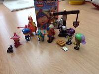 Mike the knight toy bundle and DVD
