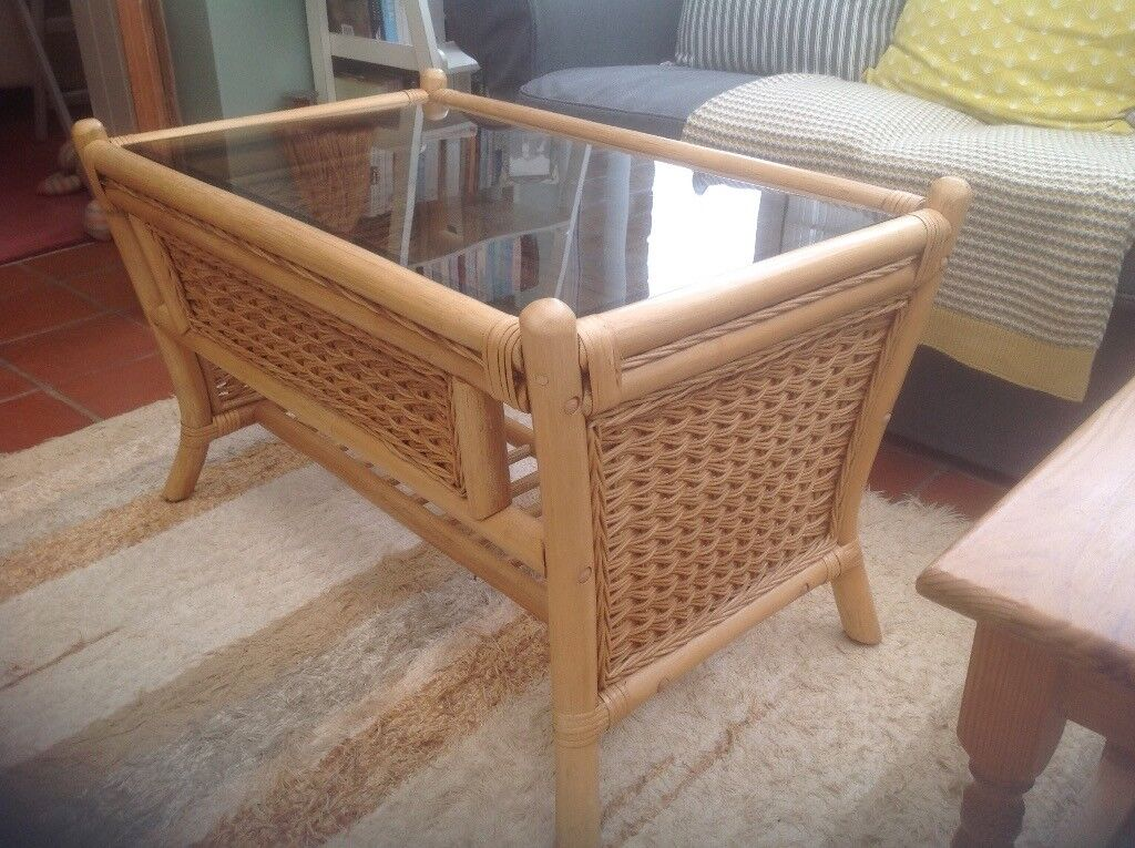 Bamboo/cane table