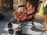Folding Wheelchair and Walker Basket