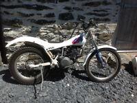 Yamaha TY250 pinky monoshock trials bike