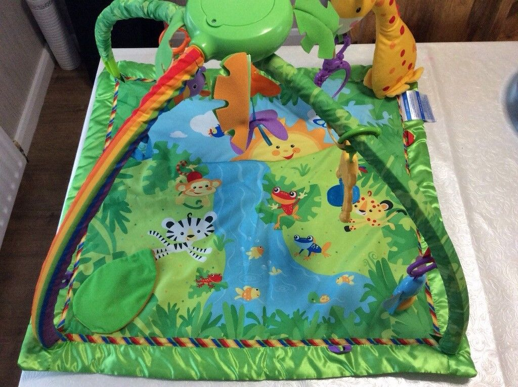 Fisher Price Rainforest Deluxe Playmat